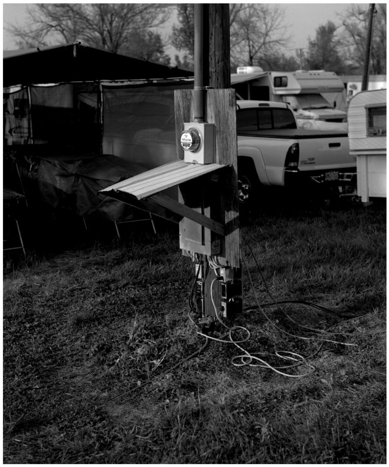 electric power at sparks kansas flea market