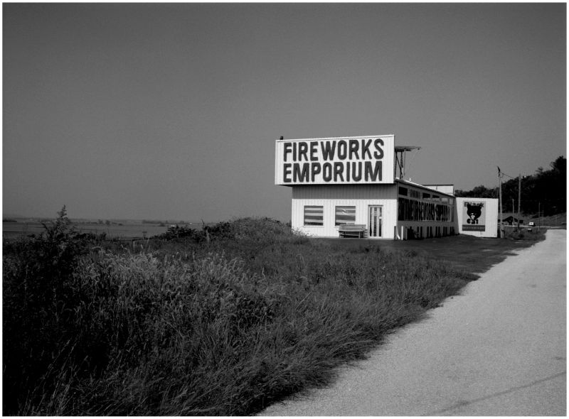 fireworks stand outside brownville nebraska