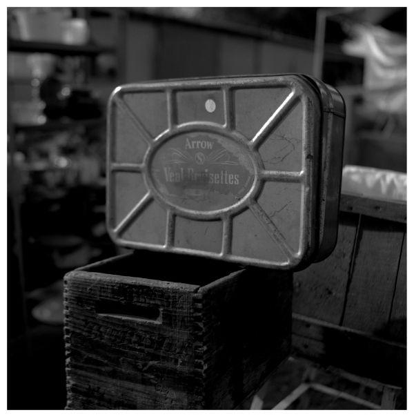 metal box for sale at sparks, ks flea market