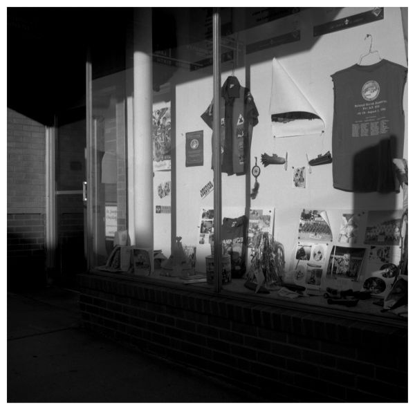 boy scouts display window - atchison, kansas