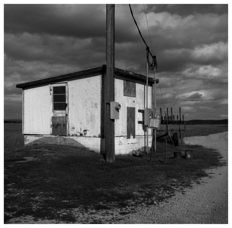 railroad shed in winthrop, missouri