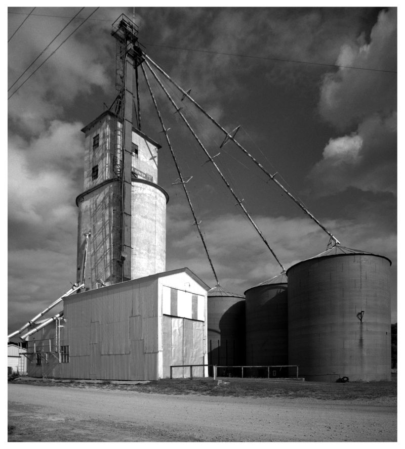 rushville, missouri grain elevator - photo