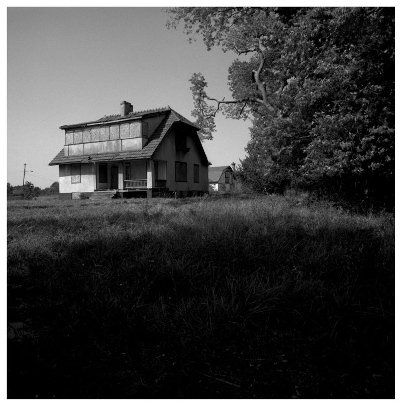 abandoned house - longview farm - lee's summit