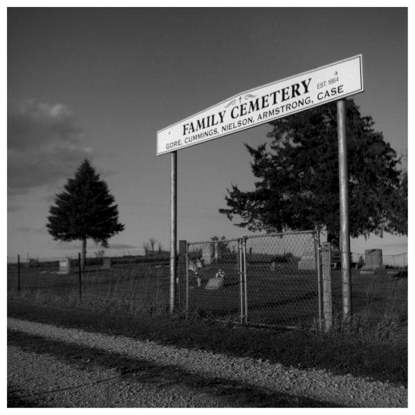 family cemetery in rural kansas
