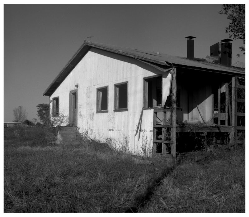 abandoned house in boonville, missouri - photo