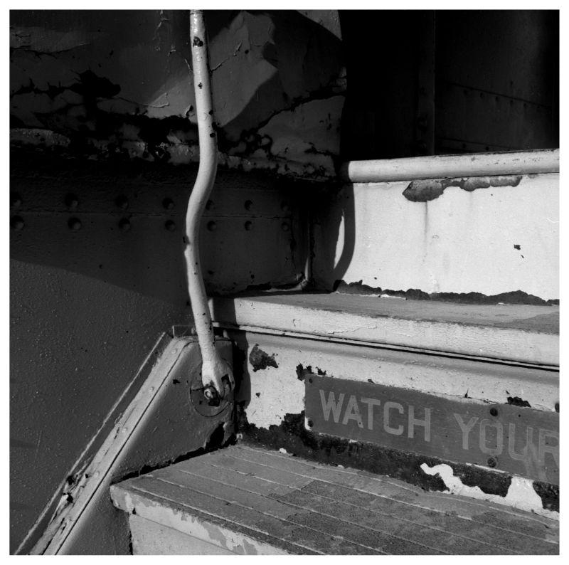 old train steps - belton, missouri - photo