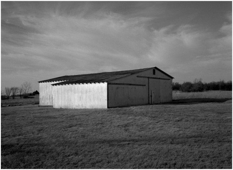 white barn - stanley, kansas - photo