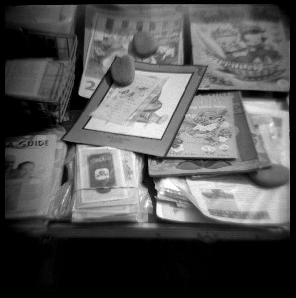 sale table at sparks, kansas flea market