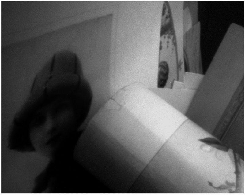 pinhole photo - grant edwards - print of a girl