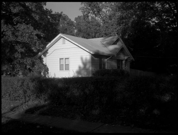 small white house - grant edwards photograph