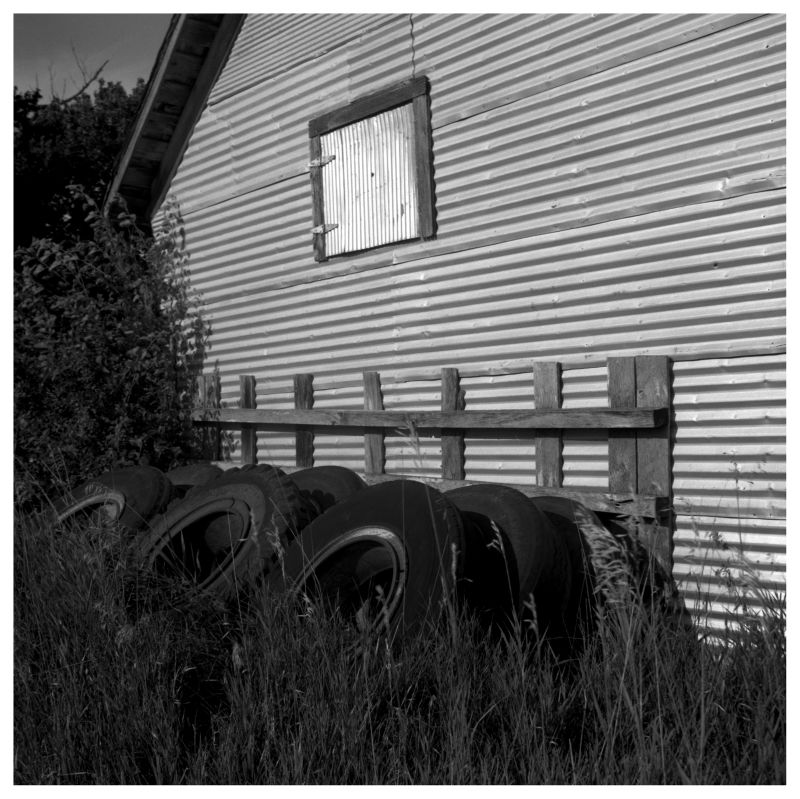metal shed - grant edwards photography