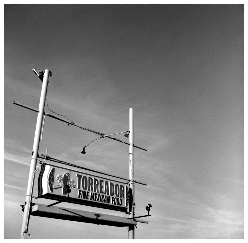 torreador sign - grant edwards photography