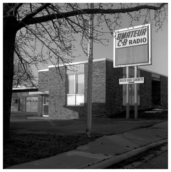 cb radio building - grant edwards photograph
