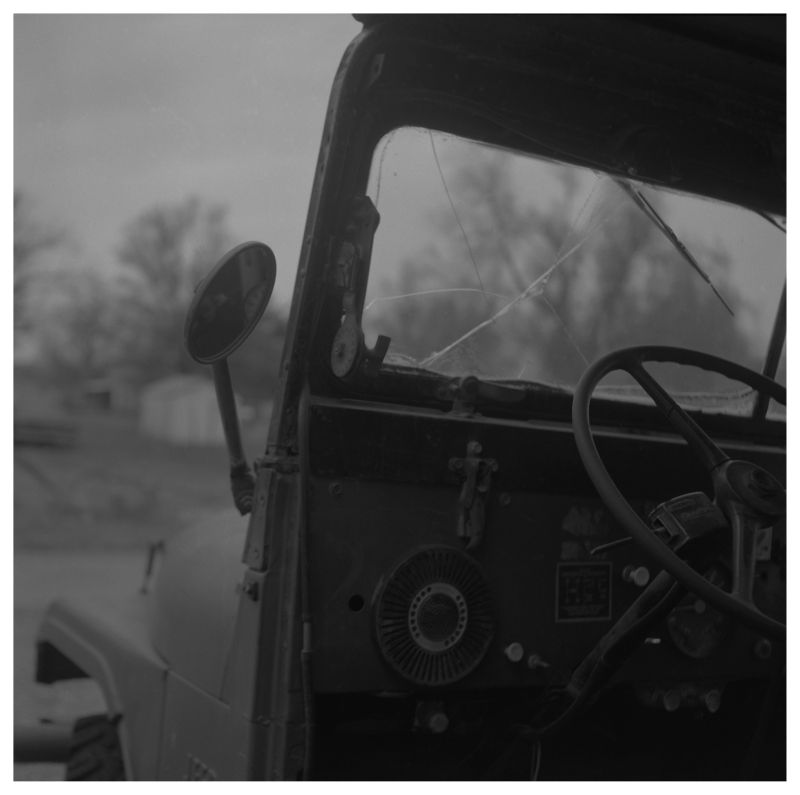 old jeep - grant edwards photograph