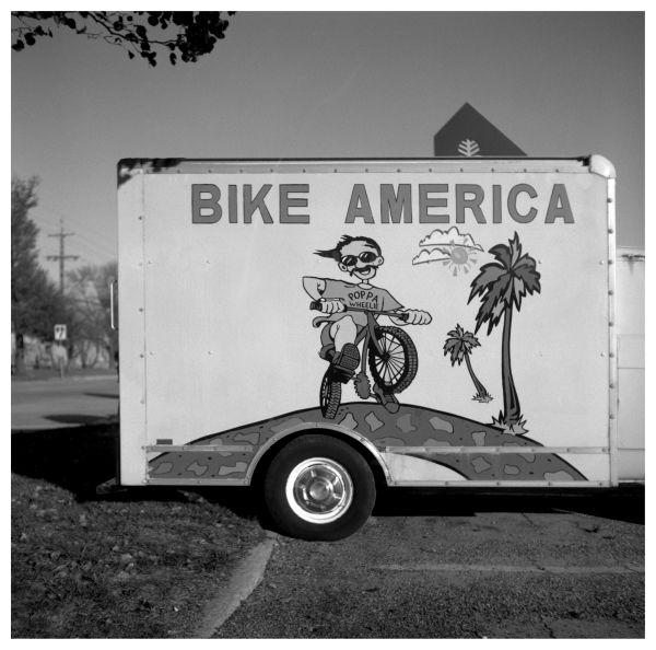 bike america truck - grant edwards photograph