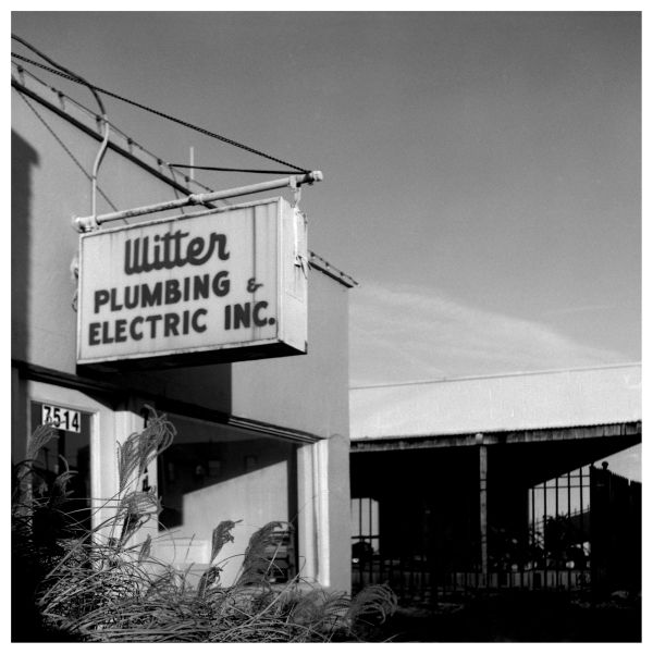 witter plumbing & elec. - grant edwards photograph