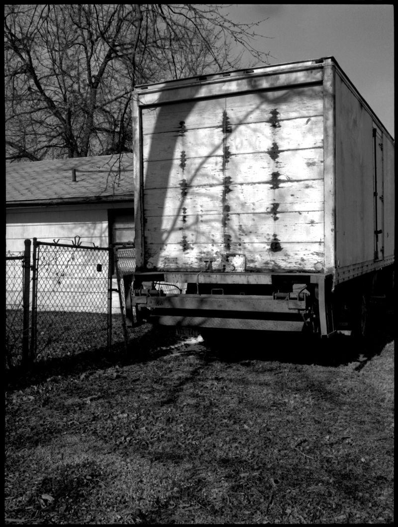 parked truck - grant edwards photography