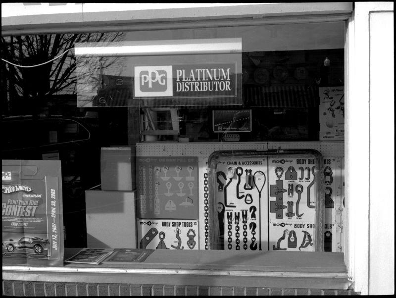 auto parts window - grant edwards photography