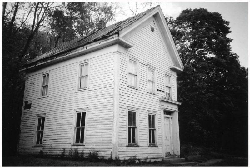 white cloud abandoned house - grant edwards