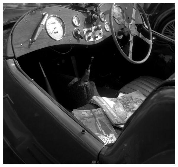 vintage mg interior - grant edwards photography
