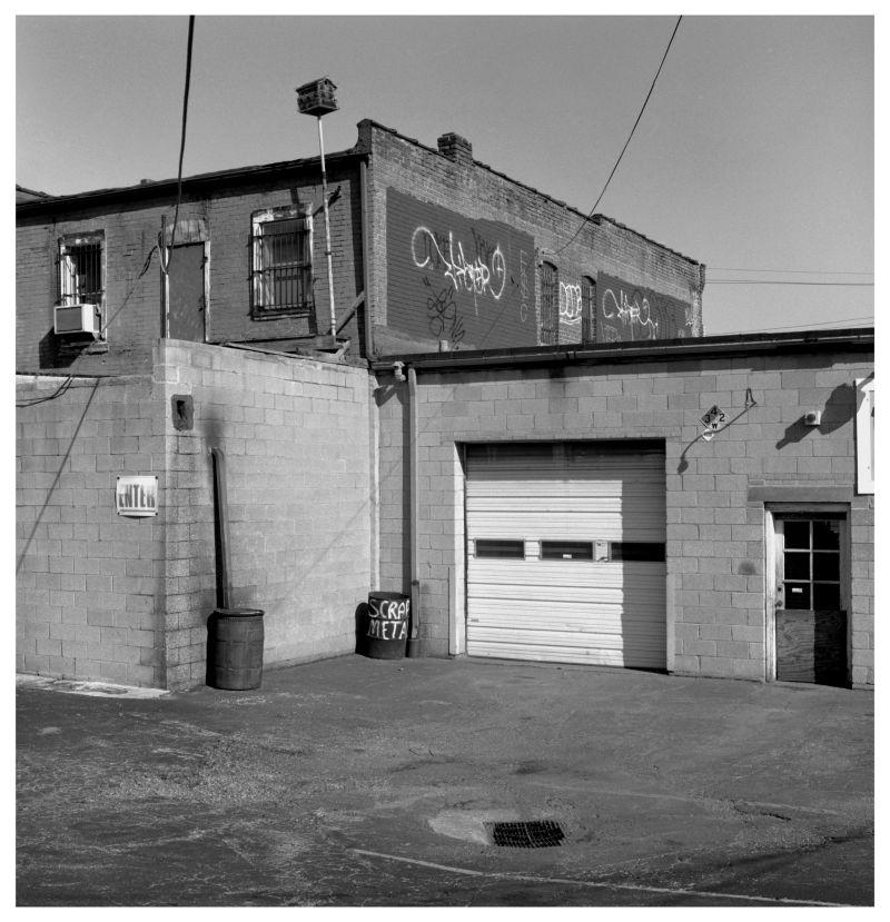 scrap metal bin - grant edwards photography