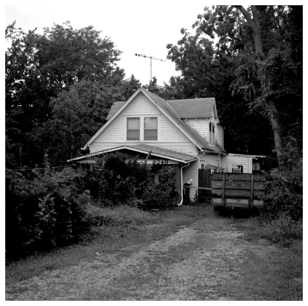 overgrown house - grant edwards photography