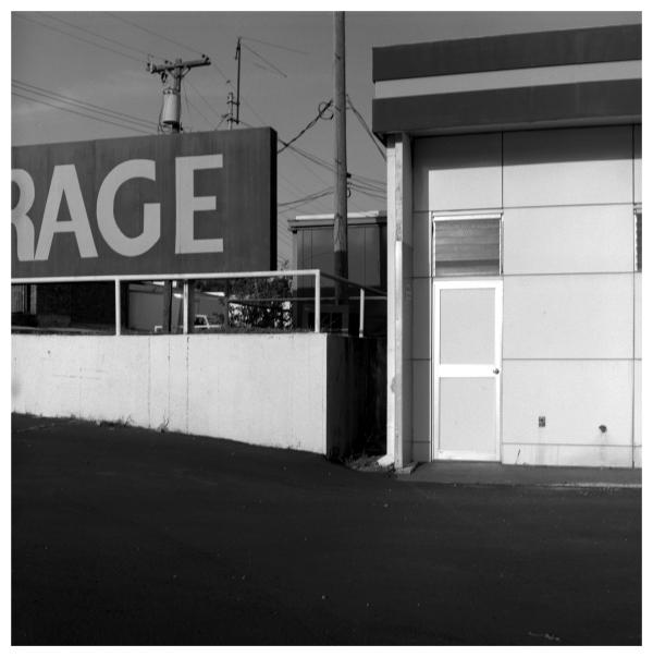garage sign - grant edwards photography