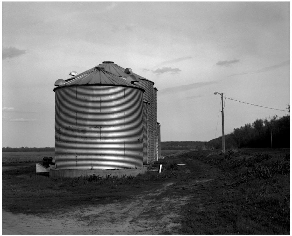 grain silos - grant edwards photography