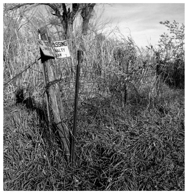 no trespassing - grant edwards photography