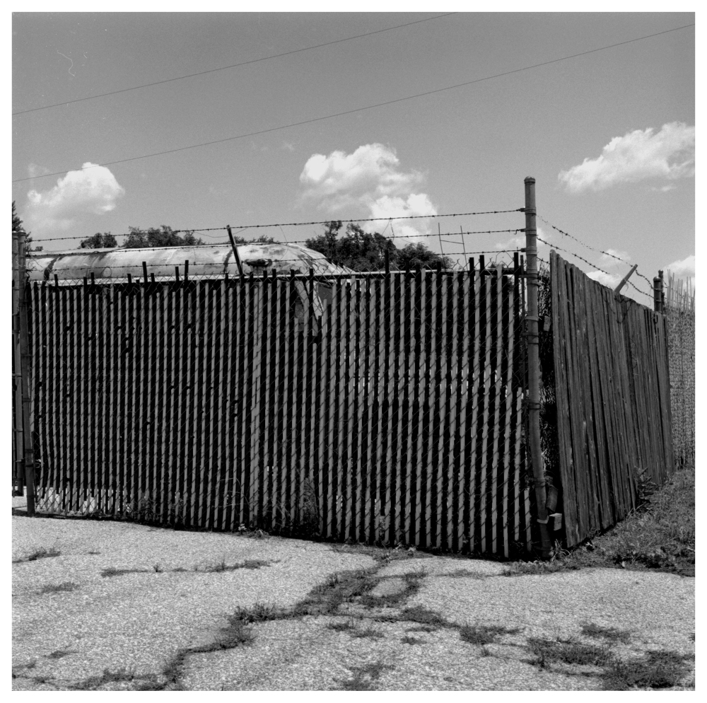 industrial fence - grant edwards photography