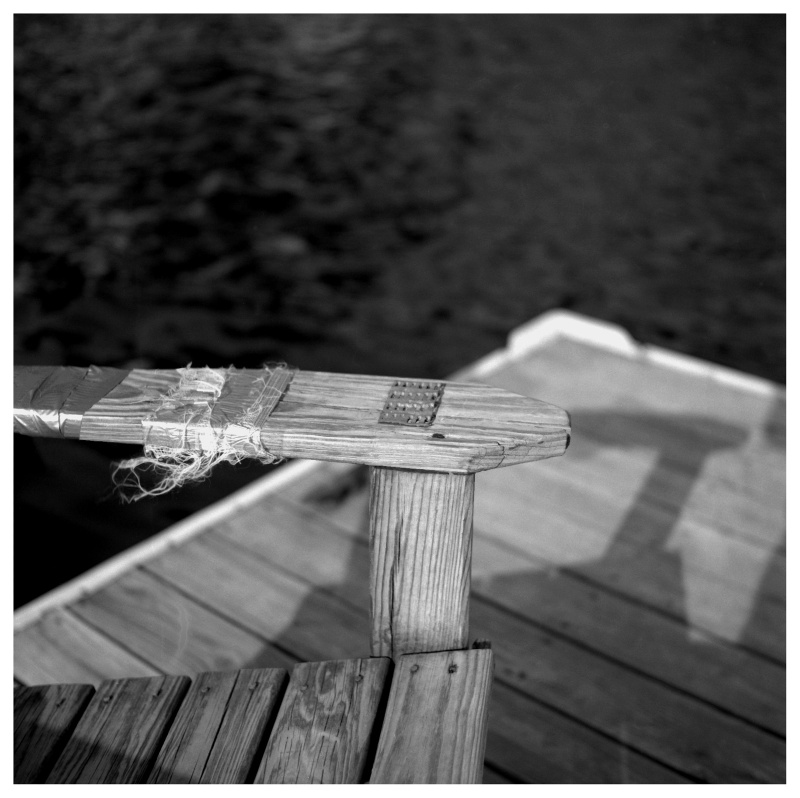 Dock chair - grant Edwards photography