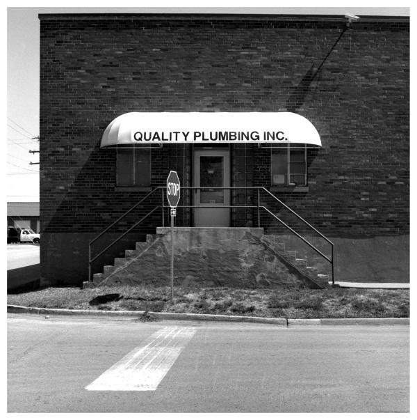plumbing entrance - grant edwards photography