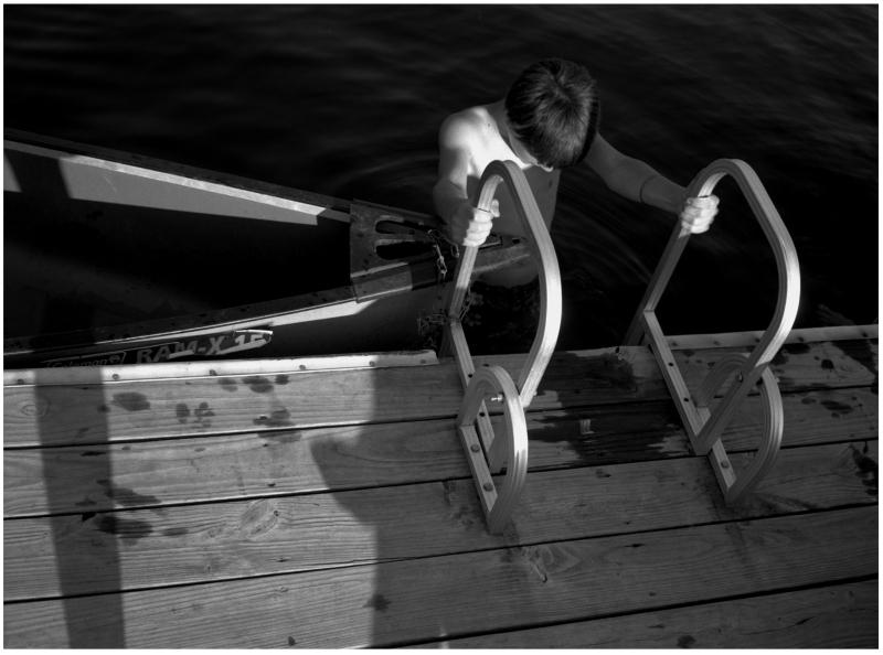 canoe and dock - grant edwards photography