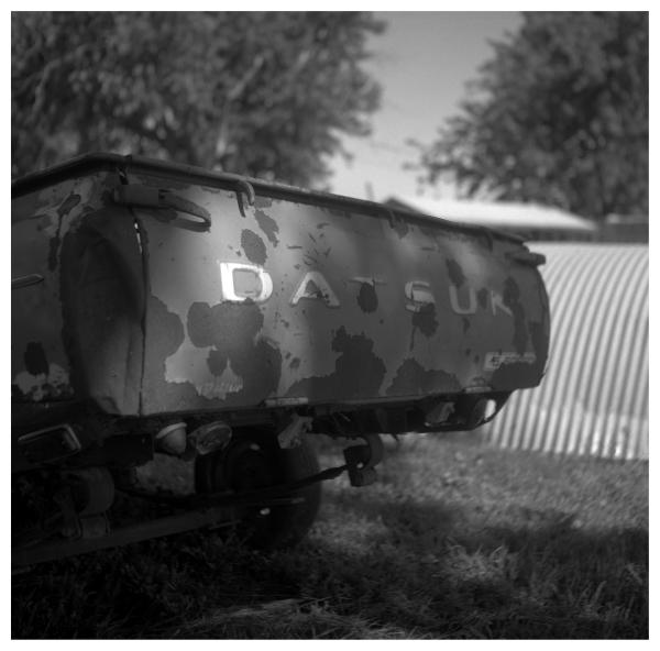 datsun truck - grant edwards photography