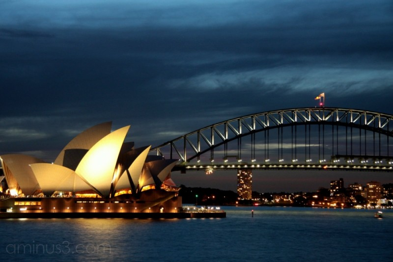 Sydney Harbour Bridge, Opera House