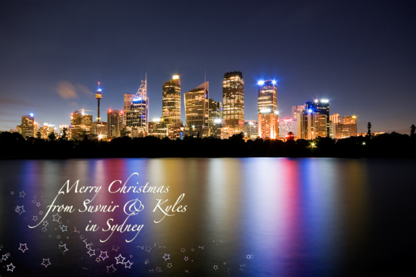 Merry Christmas from Sydney