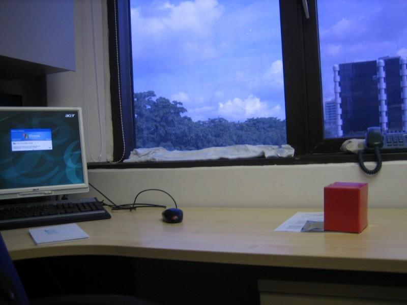 My work desk