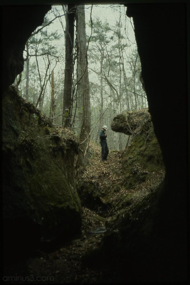 Entrance to Manilla Cave, Clarke County, AL