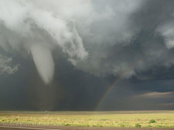 Tornado and Rainbow