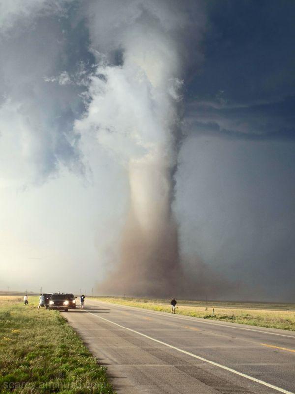 Campo Colorado Tornado Backlit