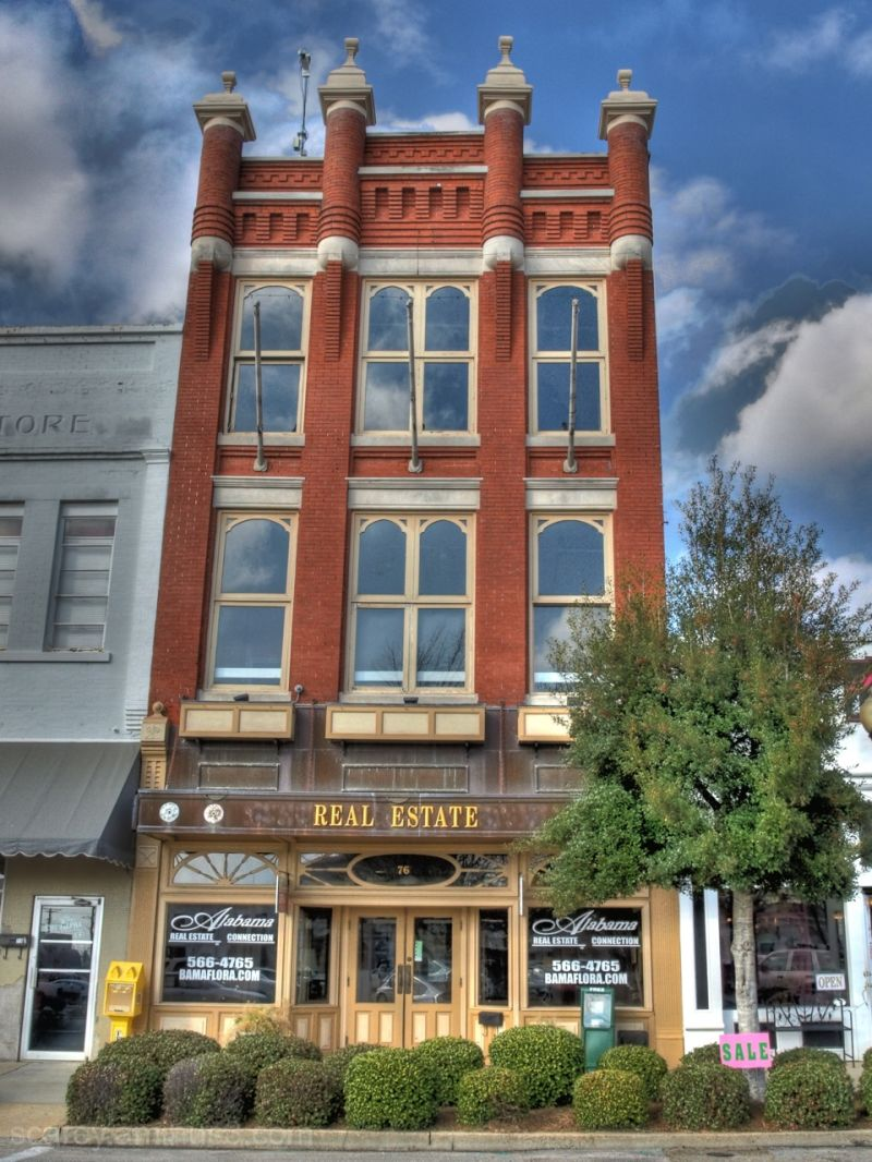 Building in Downtown Troy, Alabama
