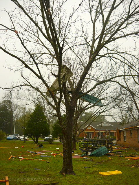 Silverhill Alabama Tornado Damage