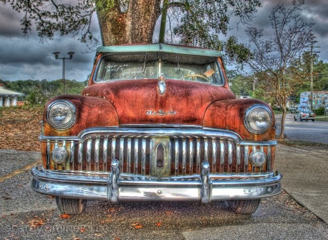 DeSoto Automobile HDR Photo