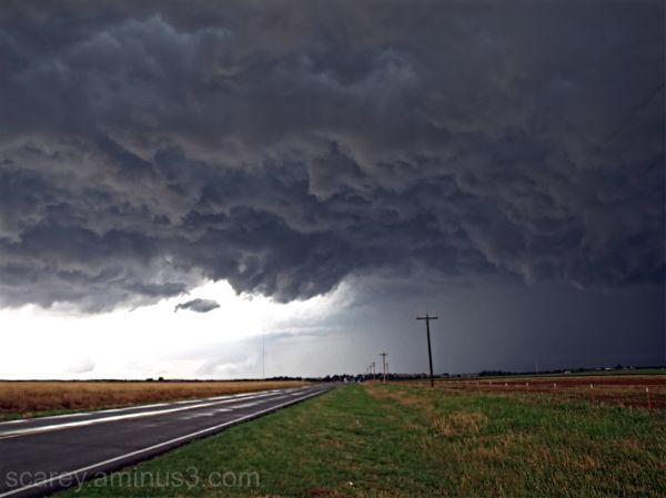 Tornadic Storm Oklahoma