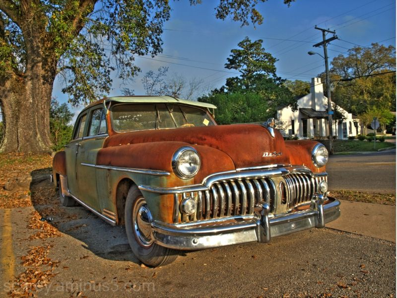 Desoto Antique Car HDR