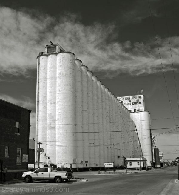 Grain Elevators Goodland Kansas