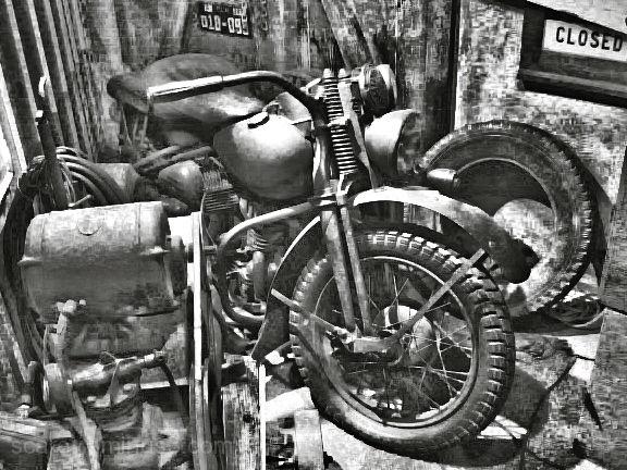 Motocycle 1941 Harley-Davidson