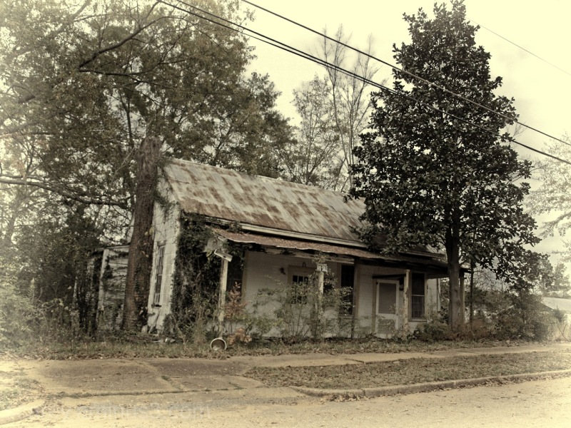 Dilapidated house for sale in Greenville, Alabama