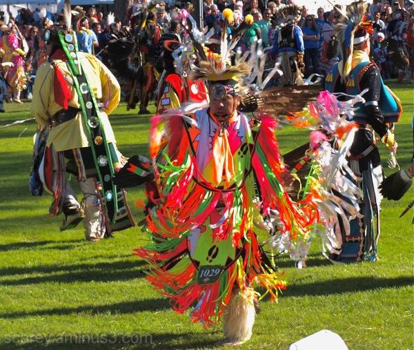 Fancy Dancers Poarch Creek Pow Wow