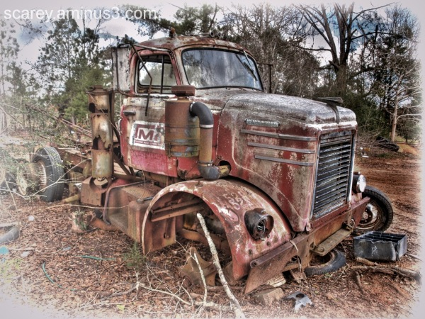 Abandoned Truck in Rural South Alabama
